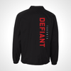 Toronto Defiant ULT Nylon Coaches Jacket - Black
