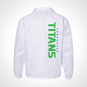 Vancouver Titans ULT Nylon Coaches Jacket - White