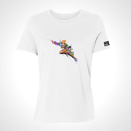 Overwatch League Expressionist Women's S/S Tee - White