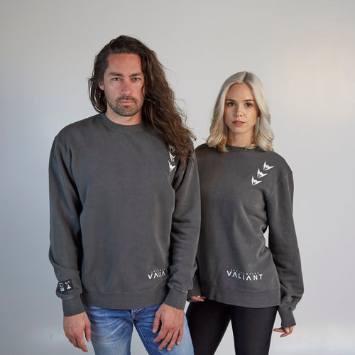 Los Angeles Valiant ULT Crew Neck Fleece - Black