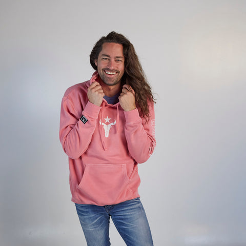 Houston Outlaws ULT Hooded Fleece - Pink