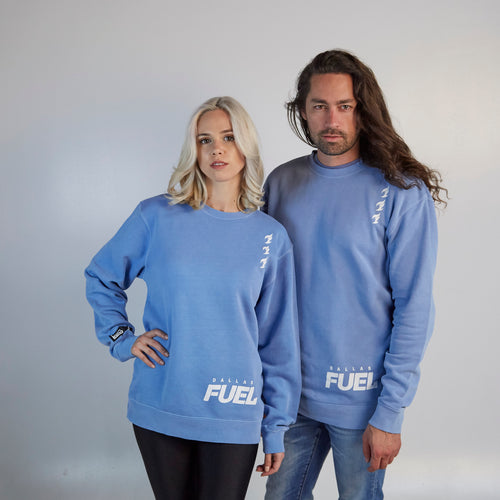 Dallas Fuel ULT Crew Neck Fleece - Lt. Blue