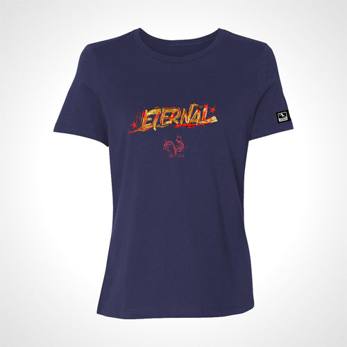 Paris Eternal ULT Expressionist Women's S/S Tee - Navy