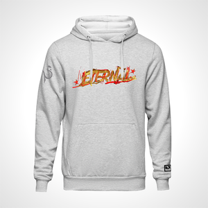 Paris Eternal ULT Expressionist Pullover Hoodie - Heather Grey