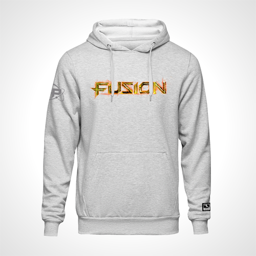 Philadelphia Fusion ULT Expressionist Pullover Hoodie - Heather Grey
