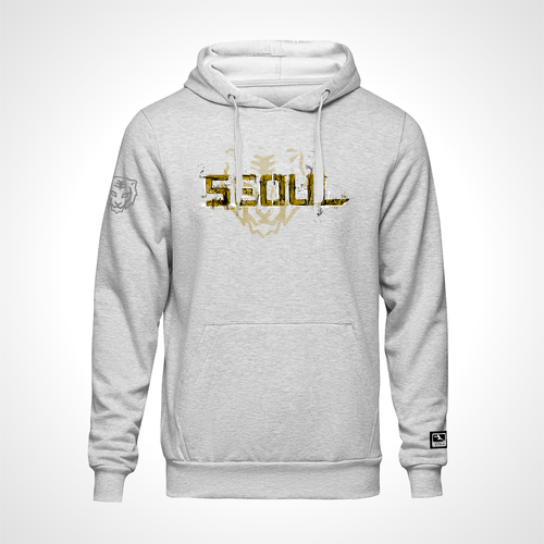 Seoul Dynasty ULT Expressionist Pullover Hoodie - Heather Grey