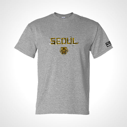 Seoul Dynasty ULT Expressionist Men's S/S Tee - Heather Grey