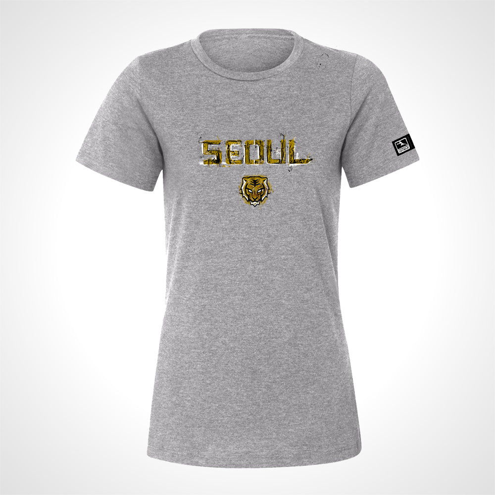 Seoul Dynasty ULT Expressionist Women's S/S Tee - Heather Grey