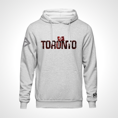 Toronto Defiant ULT Expressionist Pullover Hoodie - Heather Grey