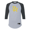 Throwback - Los Angeles Valiant 3/4 Sleeve Tee