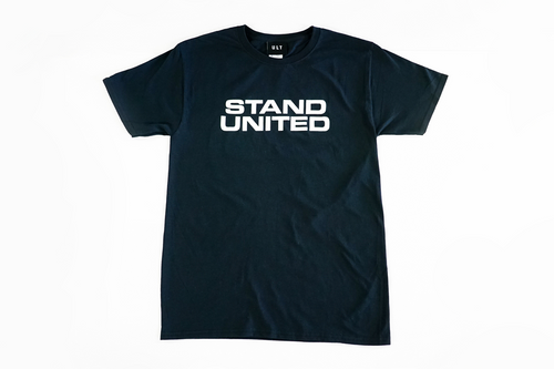 eUnited Stand Bold Tee black