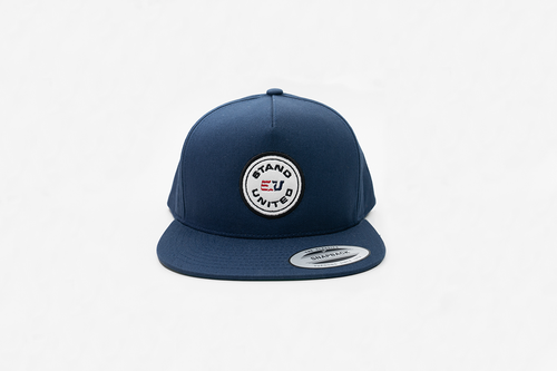 eUnited Appliqué Logo Adjustable Snapback Hat