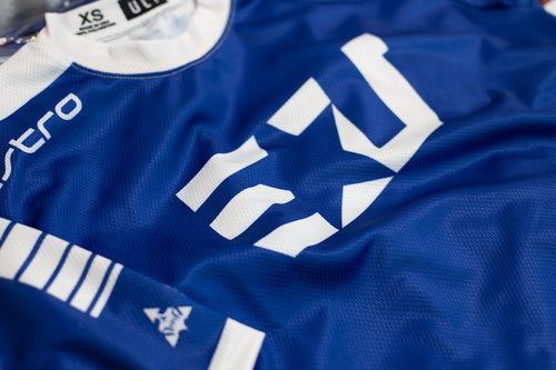 PERSONALIZED EUNITED PRO ULT BLUE S/S JERSEY