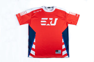 PERSONALIZED EUNITED PRO ULT RED S/S JERSEY