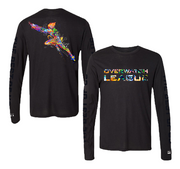 Overwatch League Expressionist Tracer L/S Tee - Black