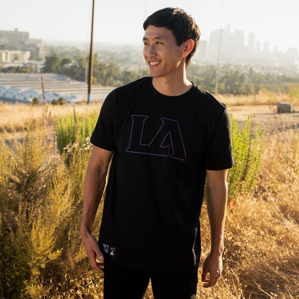 LA Gladiators Outline S/S Tee