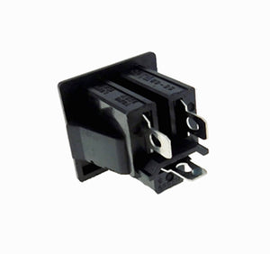 "Procraft Steel Wall Plate W/1 AC and Punched for 1 ""D"" Series Connector - Black"