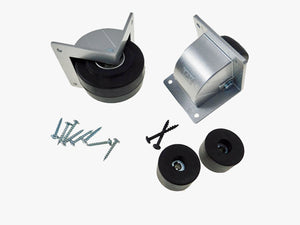 "3"" Recessed Caster Speaker Mounting Kit - Silver Housing   511-2296800-F1686/25"