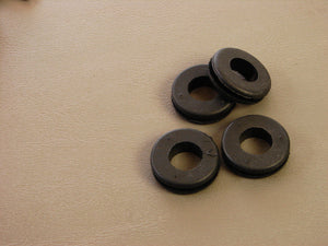 "Four Pack Brand NEW Geniune ProCraft 1/2"" Black Rubber Grommets      RG500/1.0"
