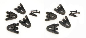 8 Pack Plastic Grill Clamps with Screws for Speaker - Subwoofer      GCX8