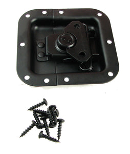 Penn-Elcom L905/915K Recessed Butterfly Latch- Black