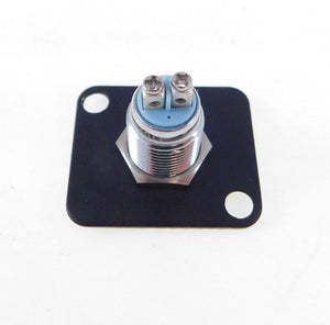 2 Pack Procraft D-Plate With 12mm 115v LED Indicator Lamp Blue D-12ZsD.A.L-115-B