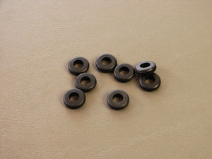 "8 Pack Brand NEW Geniune ProCraft 1/4"" Black Rubber Grommets       RG250/500"