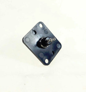 "Neutrik DBA Plate With a Normally Closed Momentary Switch ""D"" Series XLR Hole"