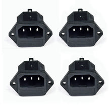 Load image into Gallery viewer, 4 Pack AC Power IEC Standard C-14  Inlet Connector W/Fuse Holder    SP-862