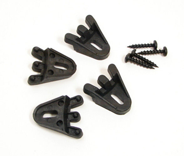 4 Pack Plastic Grill Clamps with Screws for Speaker - Subwoofer      GCP