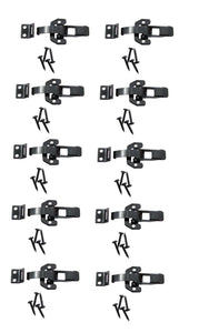 10 Pack 60863BK DrawLatch With Keeper and Screws