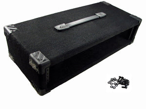"Procraft 2U 9"" Deep Equipment Rack 2 Space - Made in the USA - With Rack Screws"