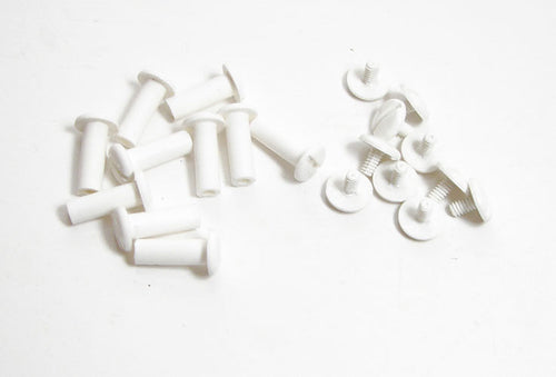 10 Pack Plastic Binding Posts - 5/8