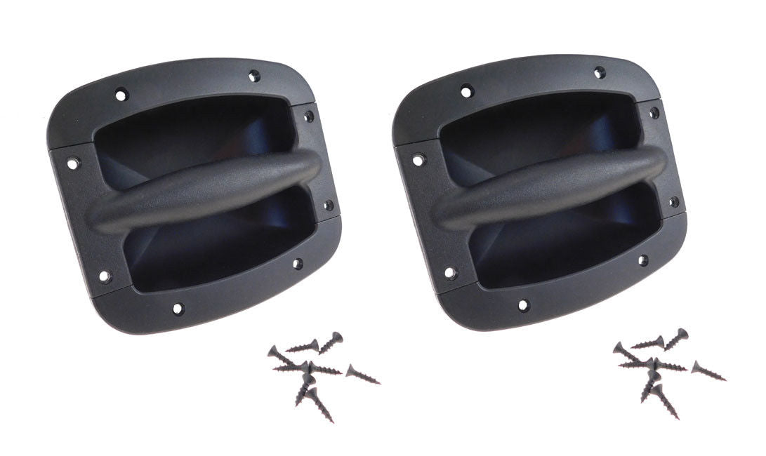 """2 Pack Procraft 5/"""" Speaker Grill With Mounting Hardware for 5/""""  Woofers"""