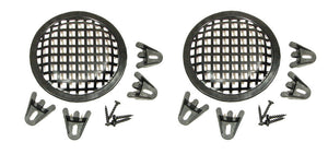 "2 Pack Procraft 5"" Speaker Grill With Mounting Hardware for 5""  Woofers"