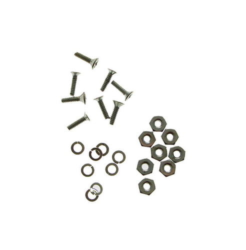 XLR Mounting Kit - Enough for Four XLR's - Zinc Plated - 4-40 Threads MK4XZP