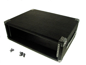 "Procraft 3U 16"" Deep Equipment Rack 3 Space - Made in the USA - With Rack Screws"
