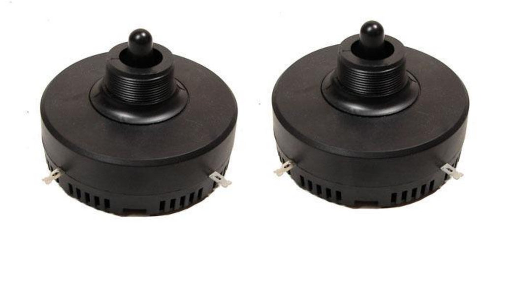 2 Pack Procraft LHD004 Piezo Horn Driver 150 Watts RMS 1-3/8