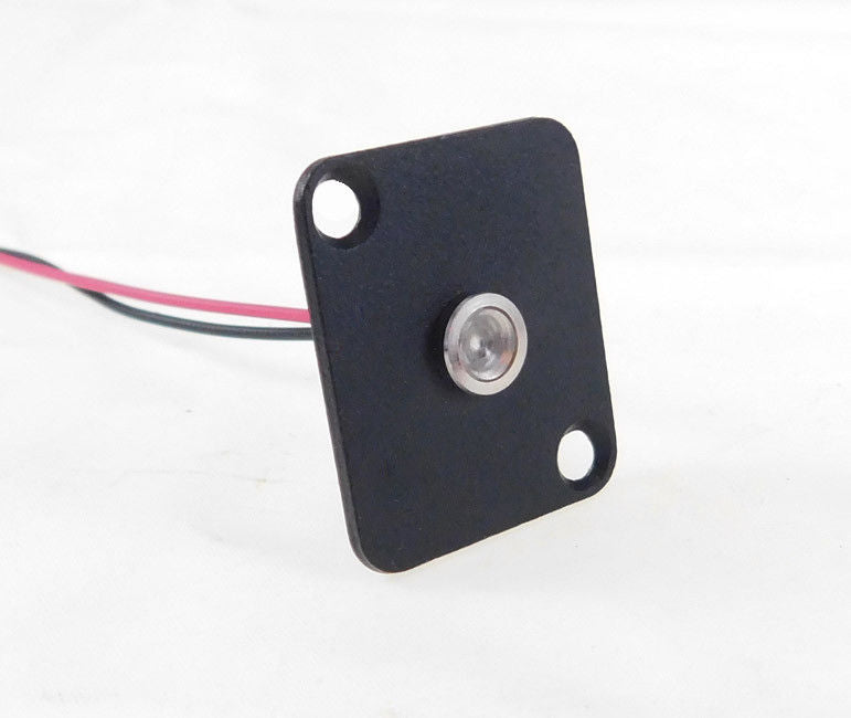 Procraft D-Plate With 6mm 115v LED Indicator Lamp Clear    D-6ZSD.X-115-C