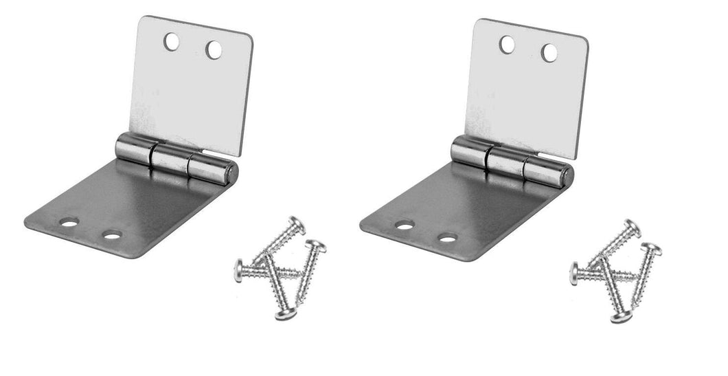 2 Pack Penn Elcom 1535 Small Butt Hinge with Screws - Zinc Finish