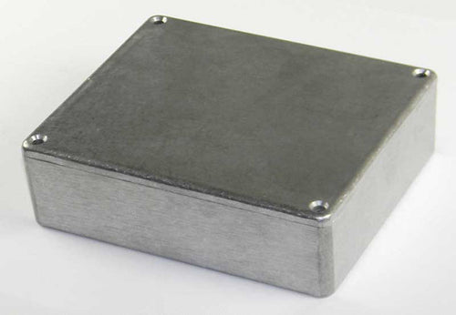 4.72in X 3.94in X 1.38in Die Cast Aluminum Box    16287