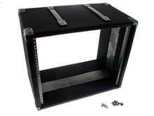"Load image into Gallery viewer, Procraft 9U 12"" Deep Equipment Rack 9 Space - Made in the USA - With Rack Screws"