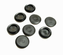 "Load image into Gallery viewer, 8 Pack Genuine NEW Niagara Brand Flexible 1"" Black Plastic Hole Plugs     SI 413"