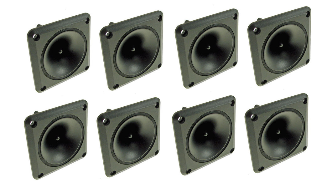 8 Pack ProCraft LH311 50 watt RMS - Piezo Tweeters New! Replacement