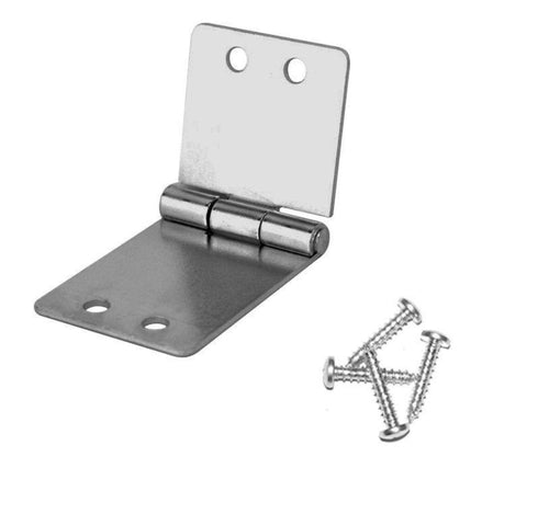 Penn Elcom 1535 Small Butt Hinge with Screws - Zinc Finish