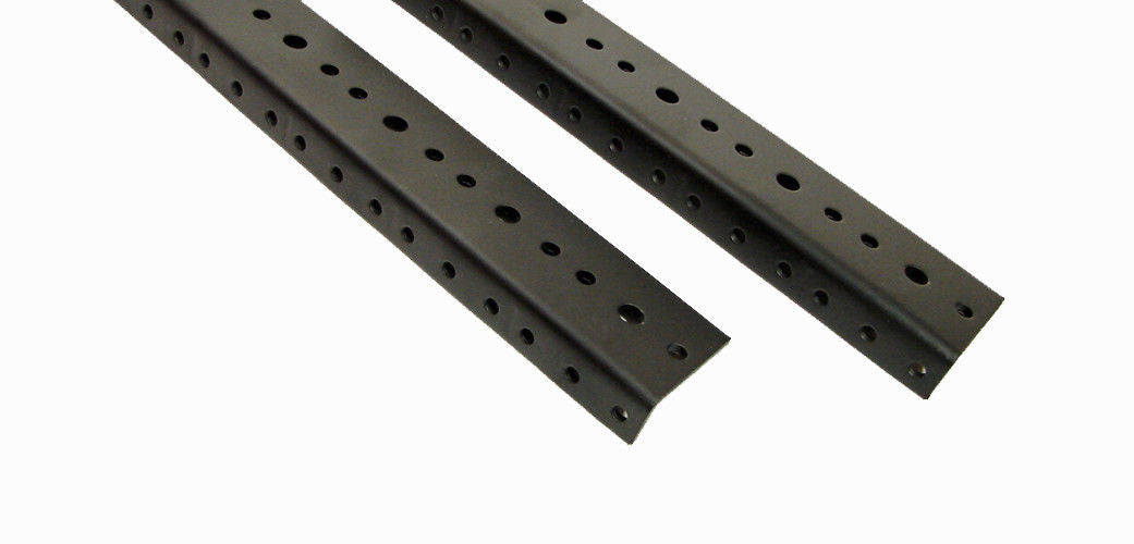 1 Pair 2 Space Rack Rail (3-1/2