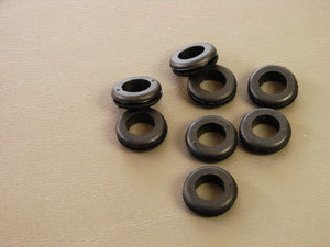 "8 Pack Brand NEW Genuine ProCraft 7/16"" Black Rubber Grommets      RG437/750"