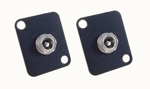 2 Pack Procraft D-Plate W/ 5.5mm X 2.1mm DC Power Metal Jack Socket D-DC-021