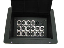 Load image into Gallery viewer, ProCraft Pro Audio Recessed Pocket Floor Box. 18 Channels Any Configurations