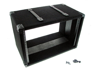 "Procraft 7U 12"" Deep Equipment Rack 7 Space - Made in the USA - With Rack Screws"